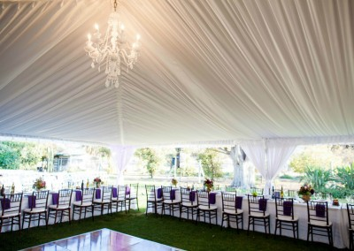 Outdoor, Purple Wedding, Tented Wedding