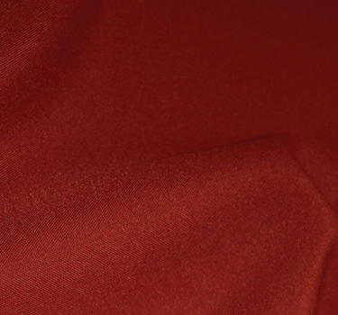 Polyester Brick Red linen