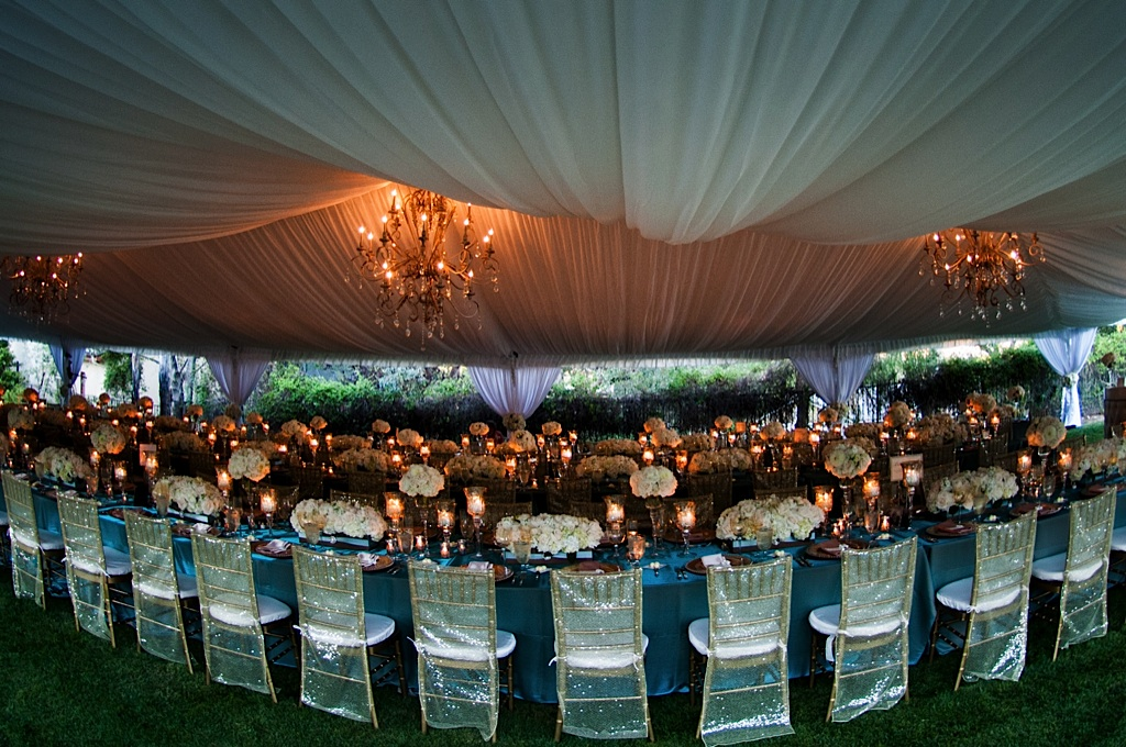 Tented wedding Los Angeles