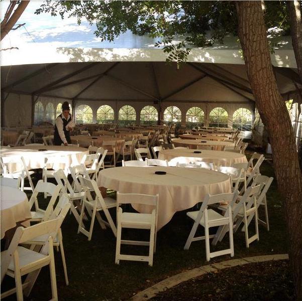 Tent at Hyatt