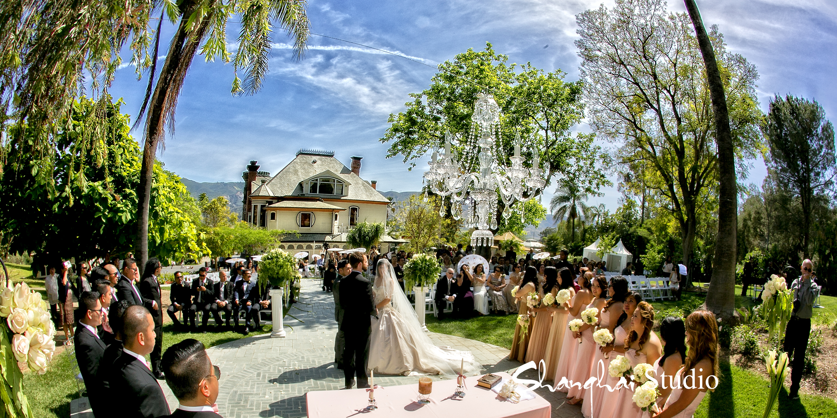 Wedding Rentals Ceremony A1Event Rentals Newhall Mansion