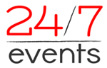 24/7 Events Logo