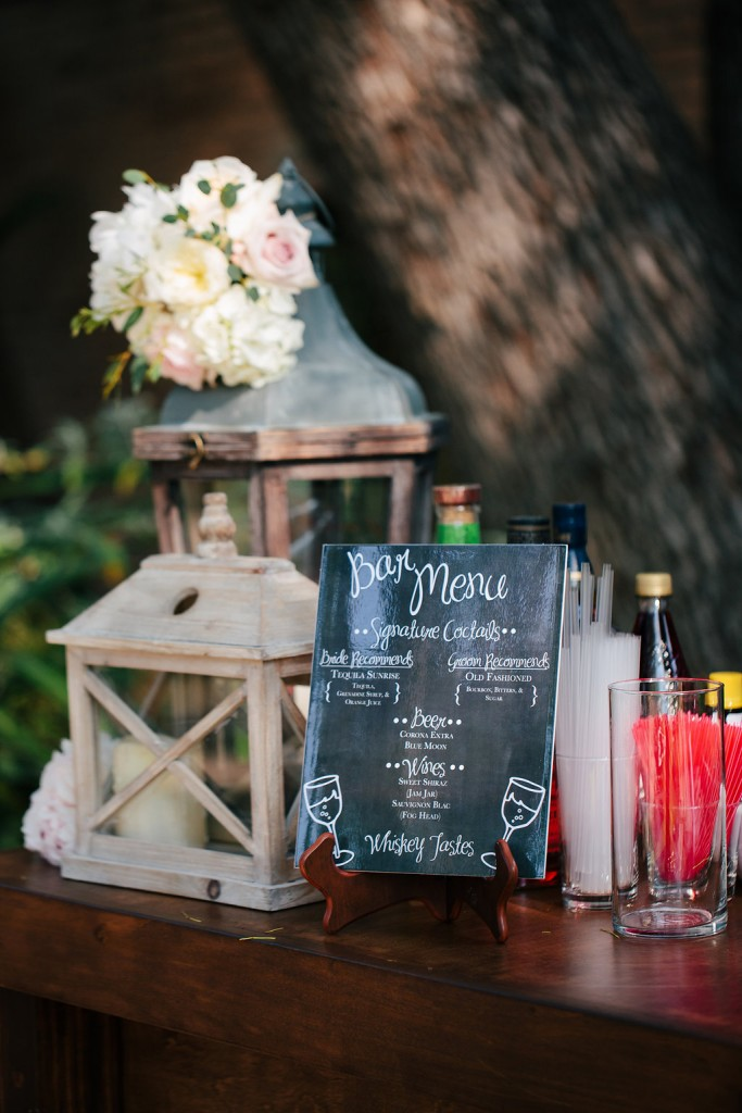 24/& Events, Pasadena Wedding, Rustic Wedding, Bar