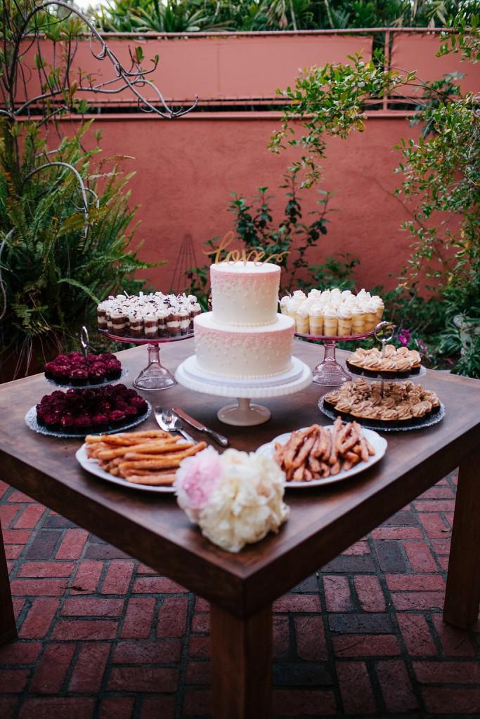 24/7 Events, Pasadena Wedding, Rustic Wedding, Dessert Table