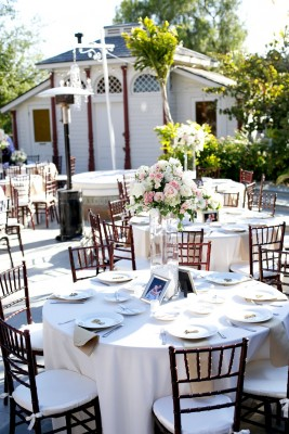 A Gorgeous Champagne & Blush Newhall Mansion Wedding