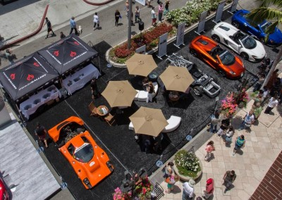 Auto Gallery Event on Rodeo Drive in Beverly Hills
