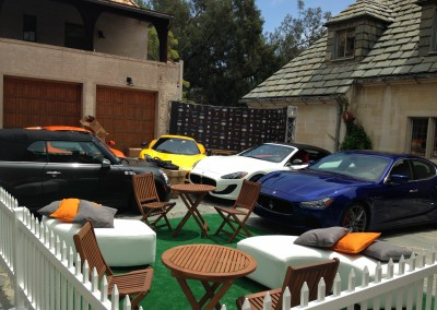Auto Gallery Event at Greystone Mansion in Los Angeles