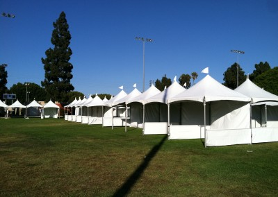 Multiple Festival Tents for Event