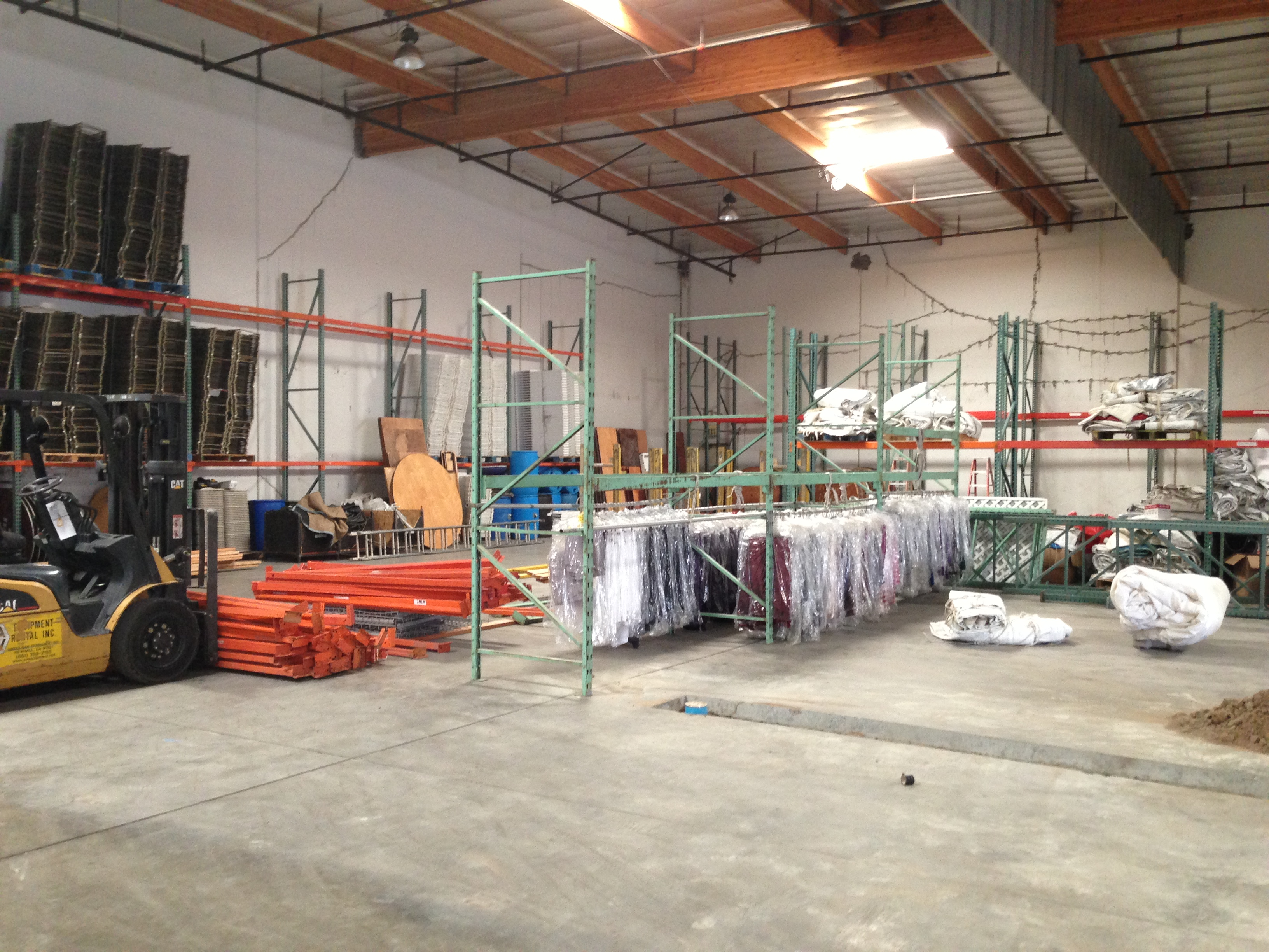 Our Current Showroom when we first moved in