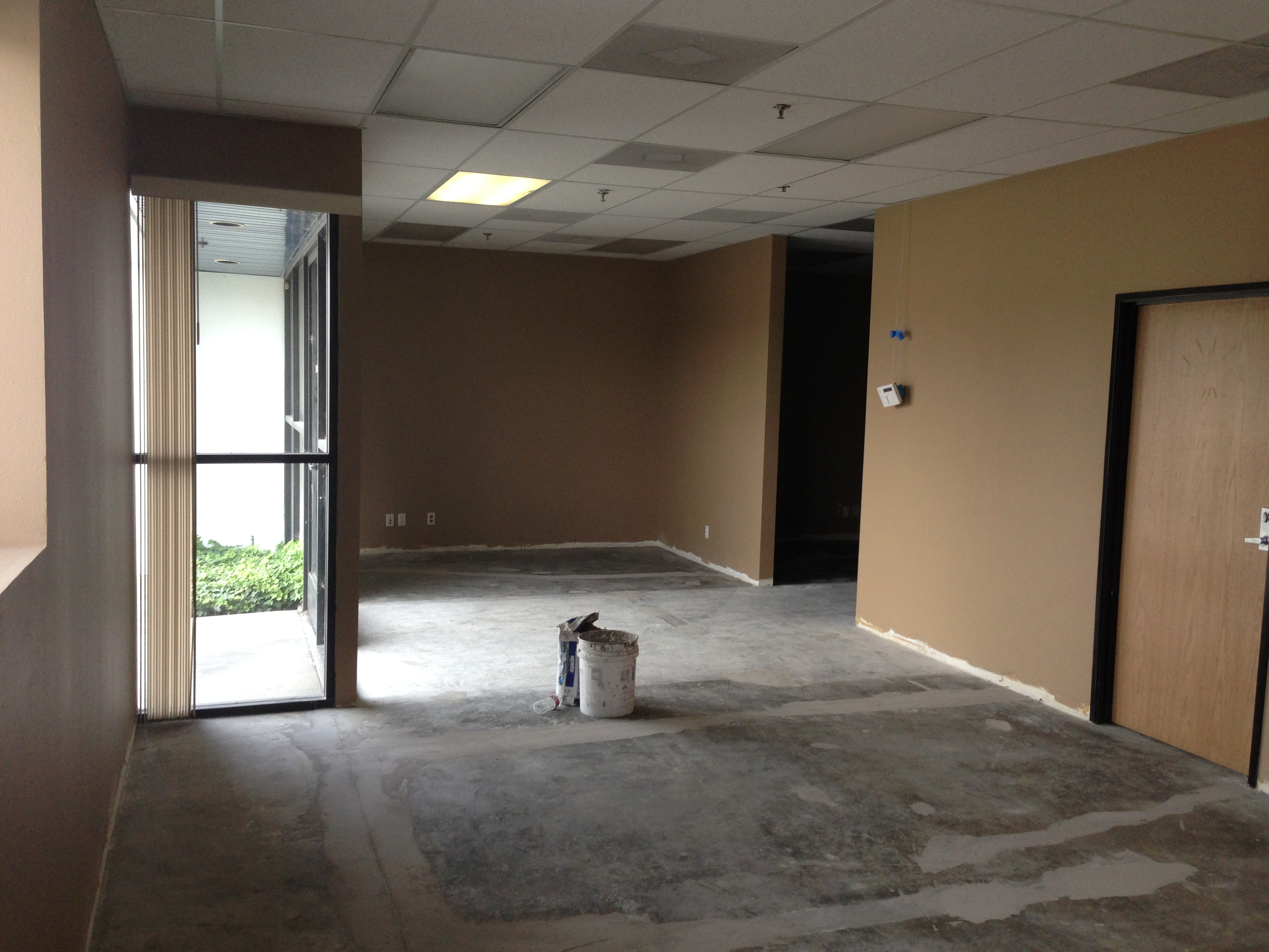 Our Current Showroom during a remodel