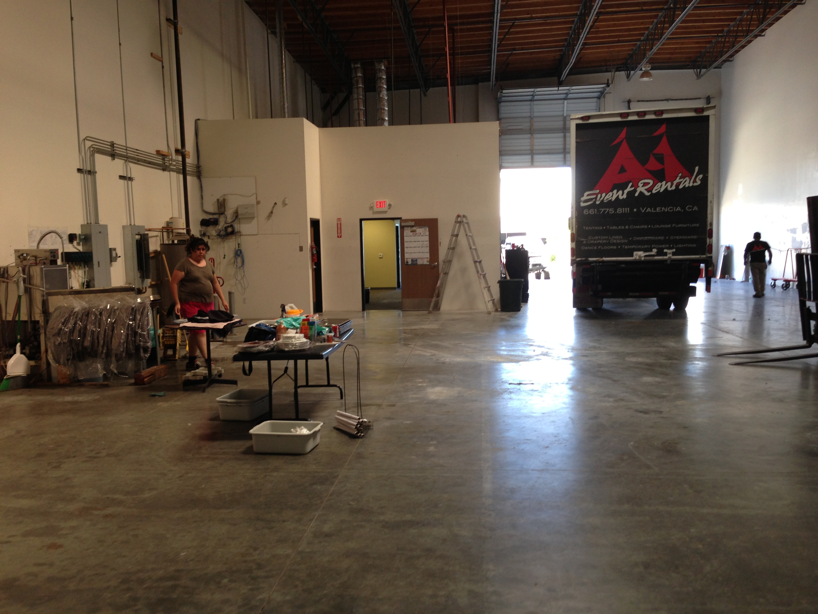 Second warehouse in Palmdale