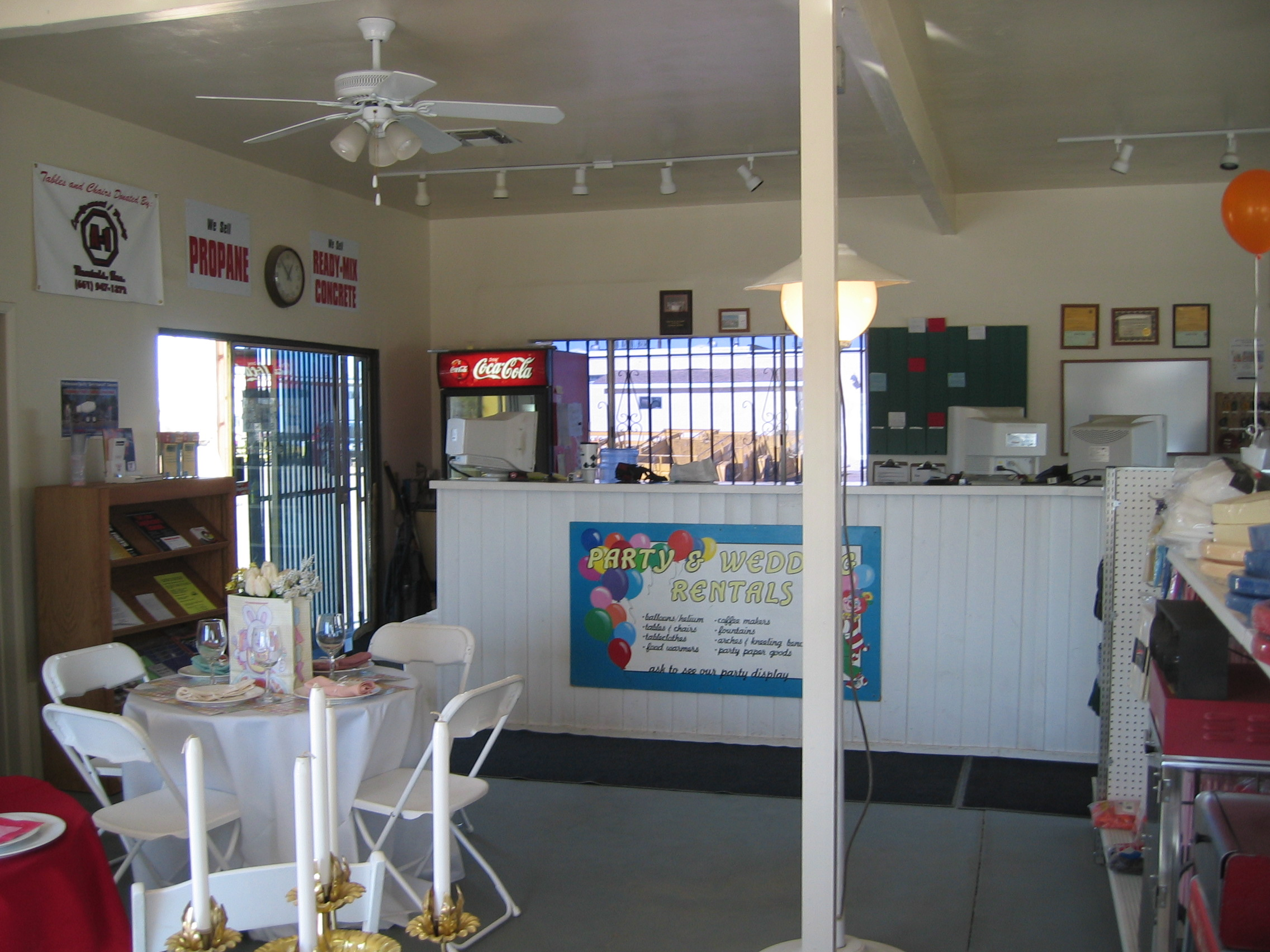 First Showroom in Palmdale