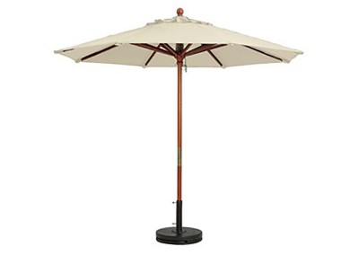 Ivory Market Umbrella