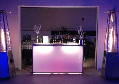 light up bar rental