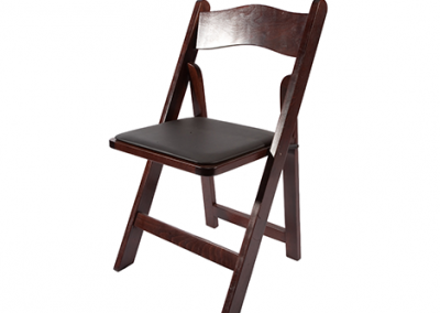 Mahogany Folding Chair