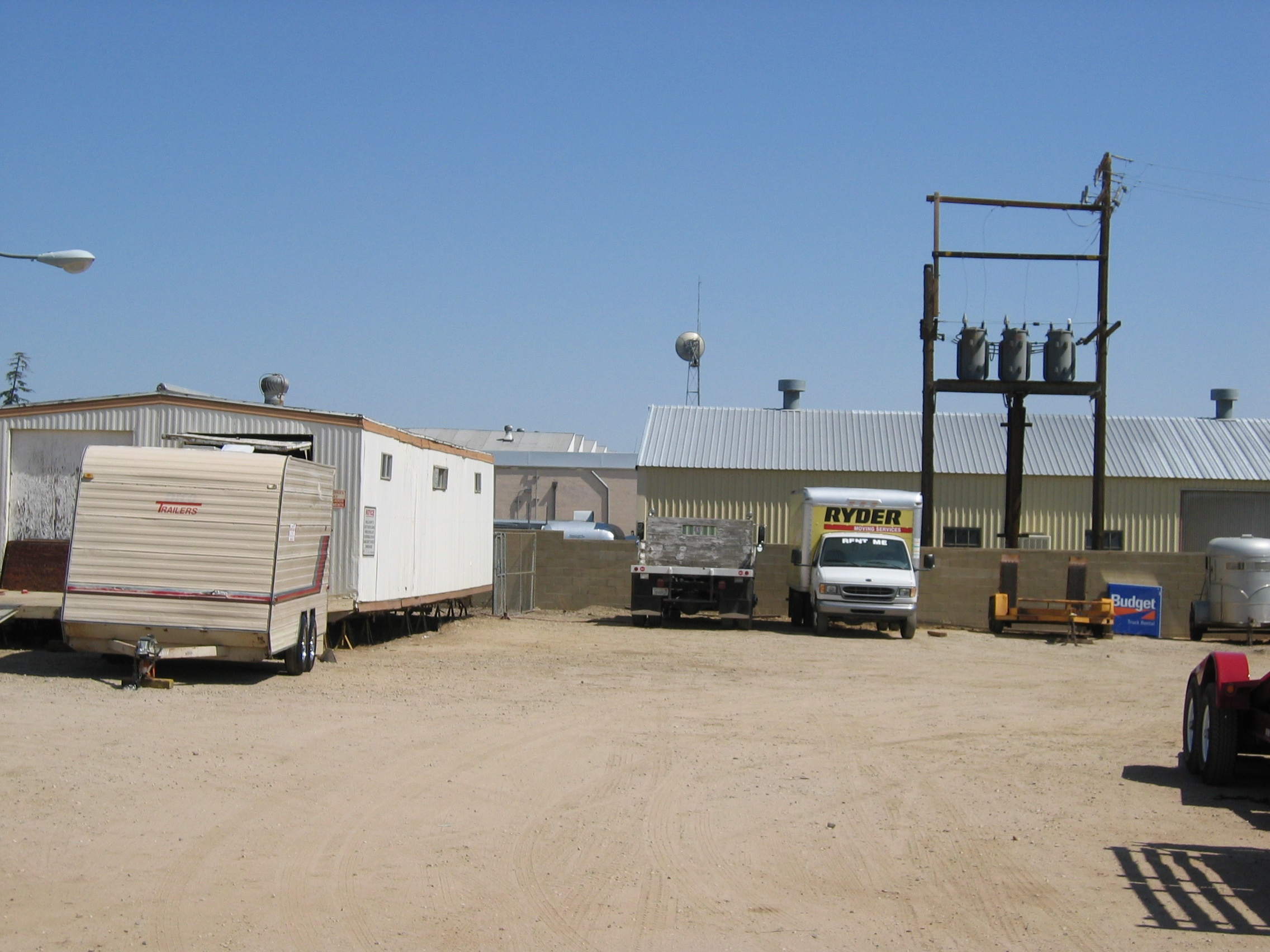 First lot in Palmdale