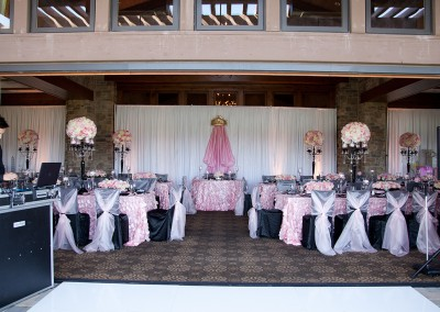 Pink baby shower rentals santa clarita