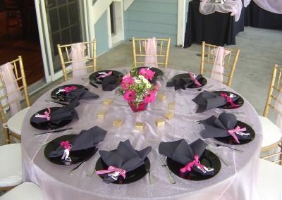 pink black baby shower santa clarita