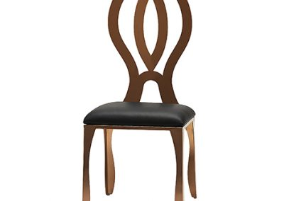 Rose Gold Dining Chair