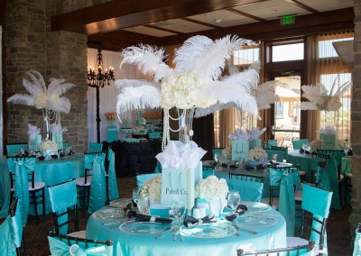 Tiffany Themed Birthday Party