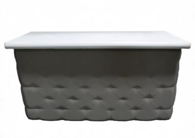Elite Tufted Bar in Black