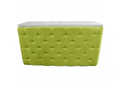 Elite Tufted Bar in Green