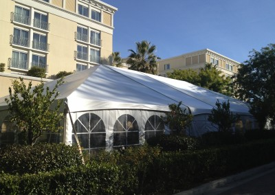 Tented Event at the Hyatt in Valencia