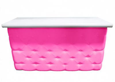 Elite Tufted Bar in Pink