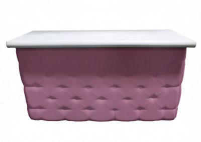 Elite Tufted Bar in Purple