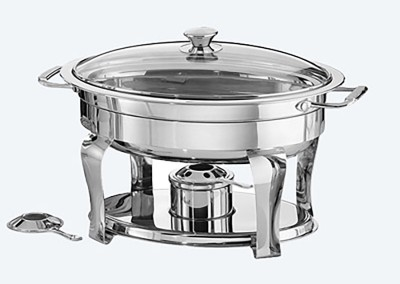 4 QT Oval Chafing Dish