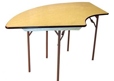 serpentine table rental