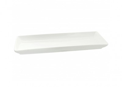 "Whittier Rectangular Coupe 15x7"" Platter"
