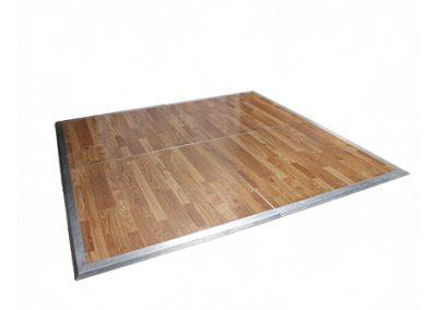 Wood dance floor rental