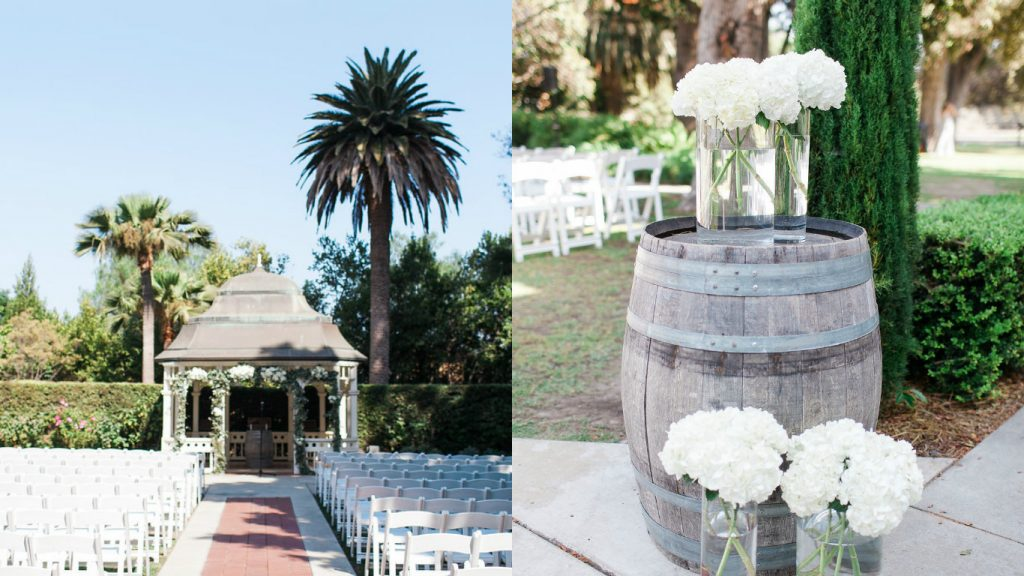 Camarillo Ranch Wedding Ceremony