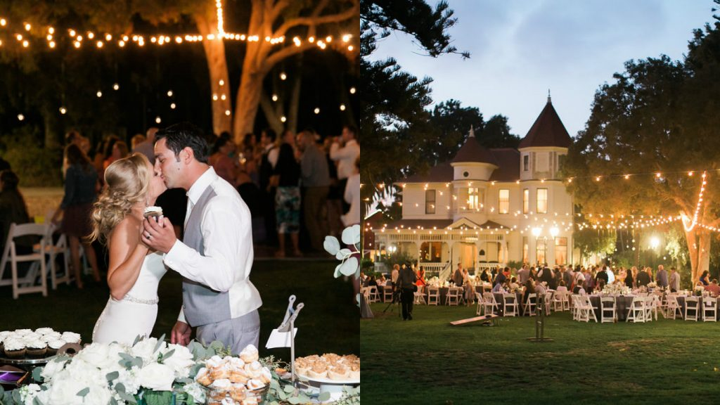Camarillo Ranch Wedding Lighting