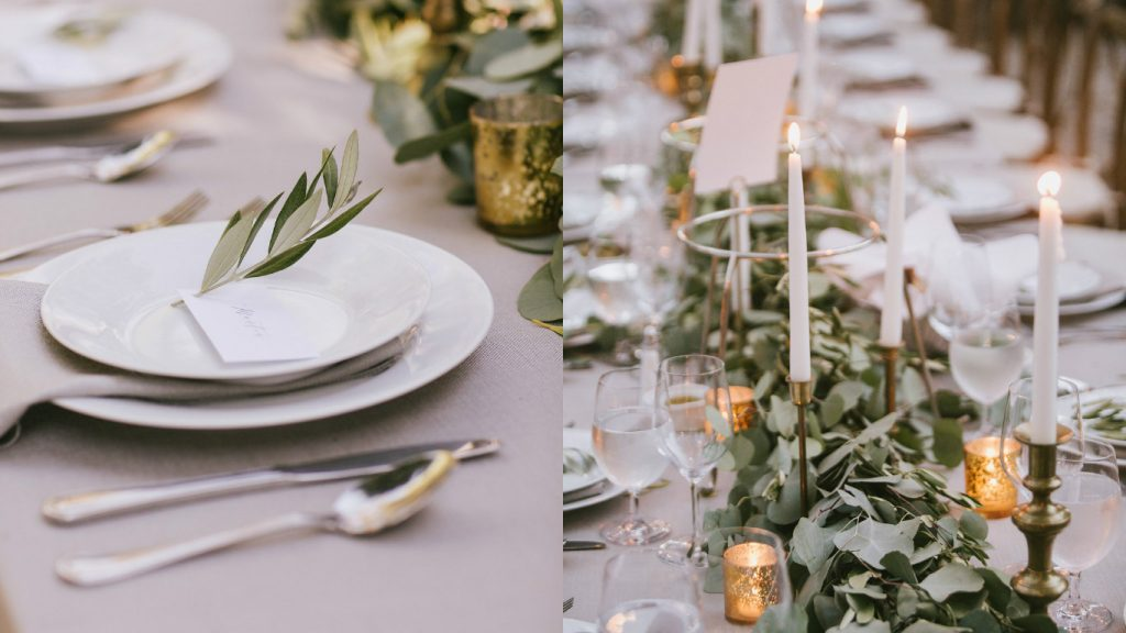 Wedding Rentals-Table setting