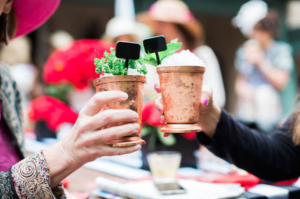 Kentucky Derby Party Mint Juleps