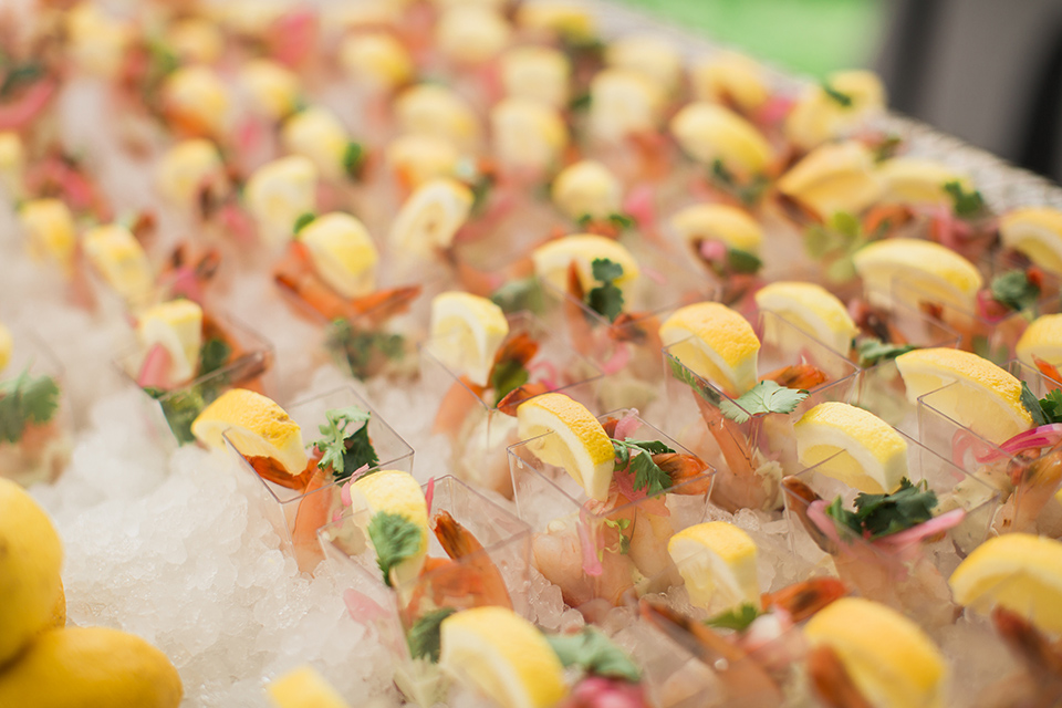 Tropical party appetizer